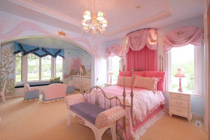 idea for the little princess room kids room ideas pinterest
