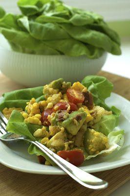 Oven Love: Joy's BLT Corn Salad Wraps | Recipes/Organizing ideas/Cann ...