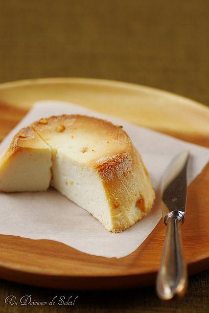 Wonderfully creamy, totally Italian Baked Ricotta Pudding.