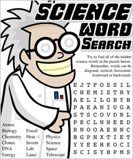 Word Search | science | Pinterest