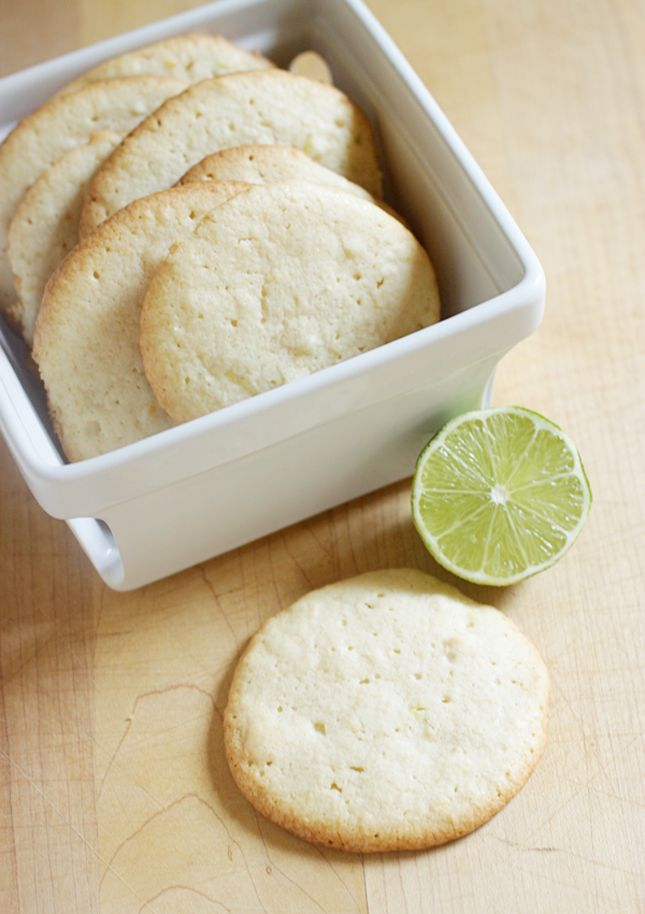 Spring Lime Tea Cookies Recipes — Dishmaps
