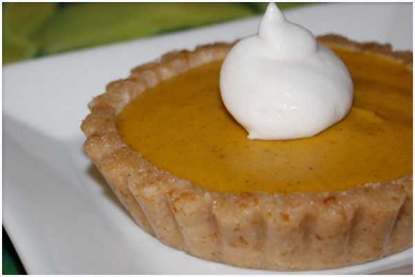 Vegan Raw Pumpkin Mousse Pie With A Coconut Whipped Cream By ...
