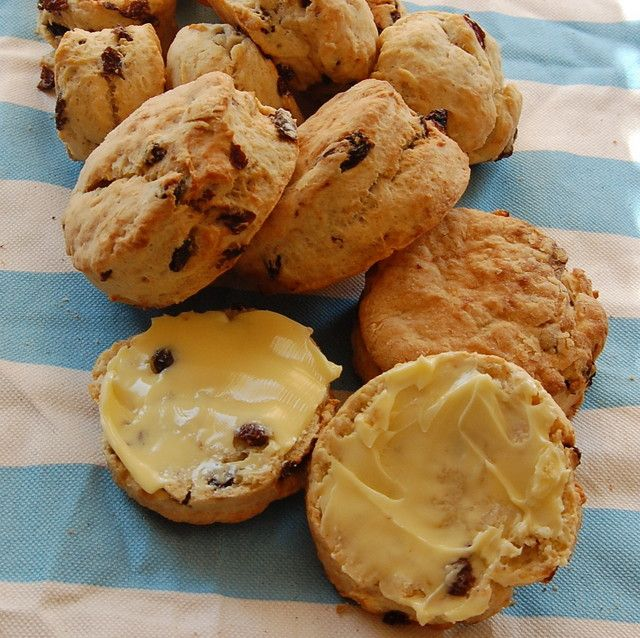 Tea Raisin Scones | Food | Pinterest