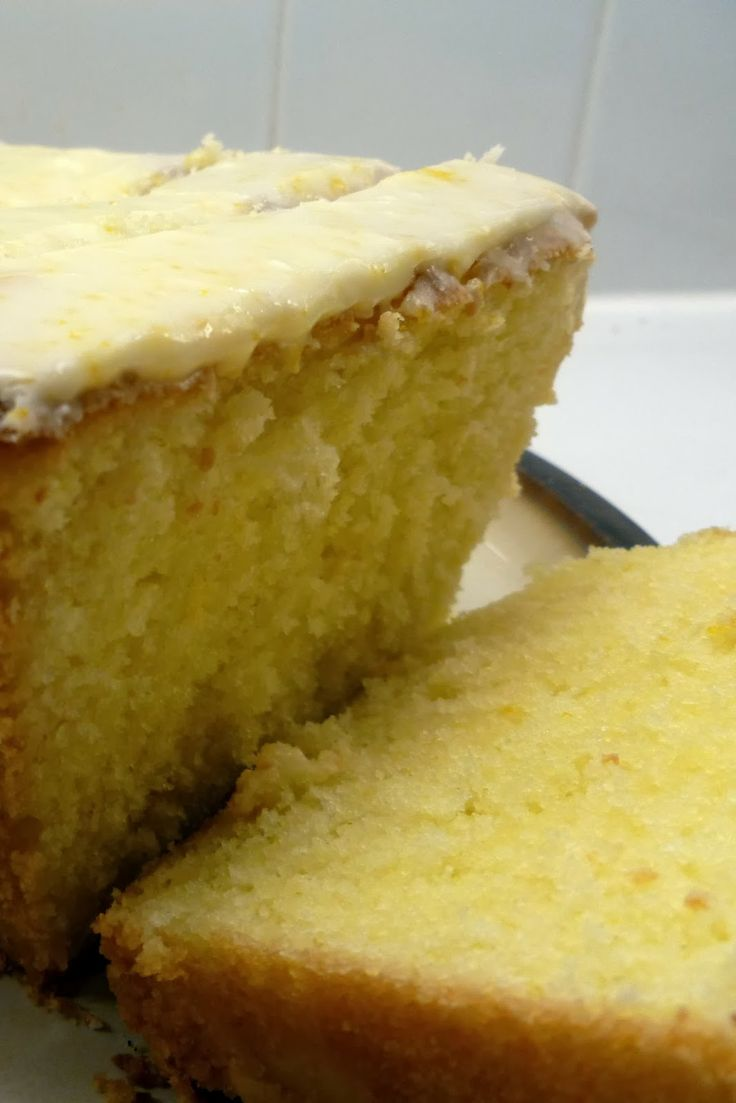 Lemon Pound Cake With Rum Glaze