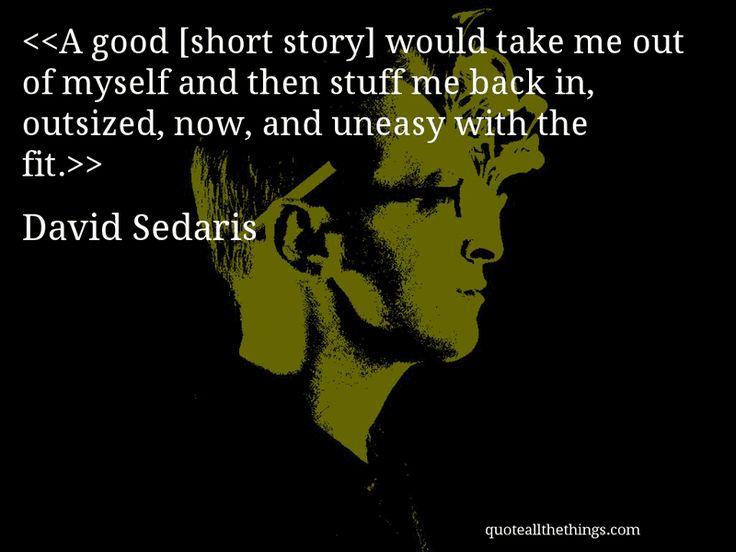 how to write like david sedaris