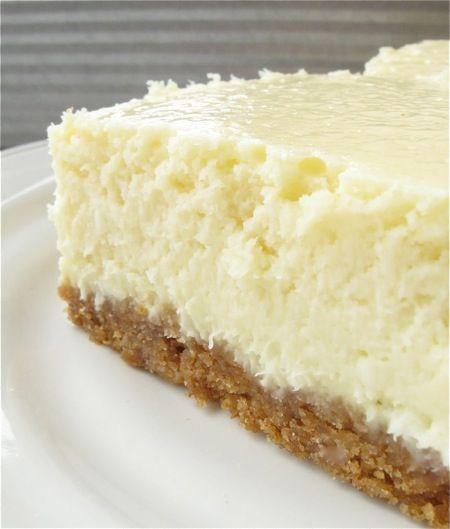 VERY Vanilla cheesecake bars!