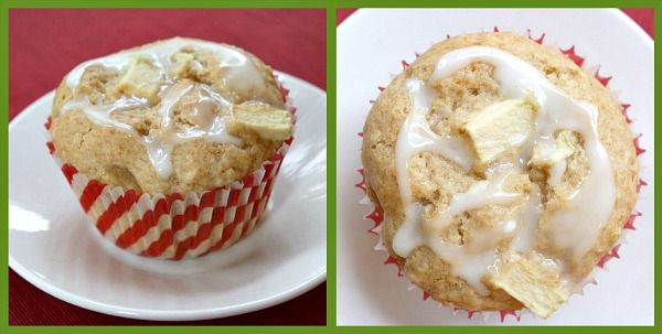 """Apple Fritter Muffins"""" (Not actually fried though and made with some ..."""