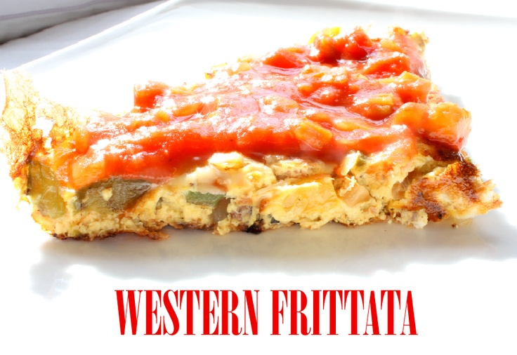 Western Frittata: A wonderful weekend breakfast - or easy weekday ...