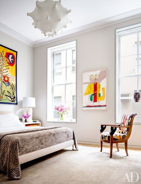 Steven Harris and Lucien Rees Roberts Design Their Dream Tribeca Loft
