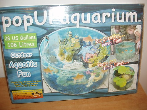 pop up aquarium for the patio for the home pinterest