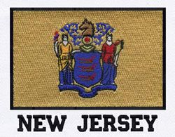 the flag of new jersey