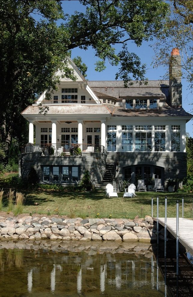 Lake house dream home pinterest for Lakehouse homes