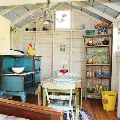 Cottage Kitchen Kitchen Cozy Pinterest
