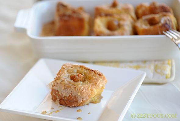 Pumpkin Pie French Toast - crunchy sugar coated King's Hawaiian Sweet ...