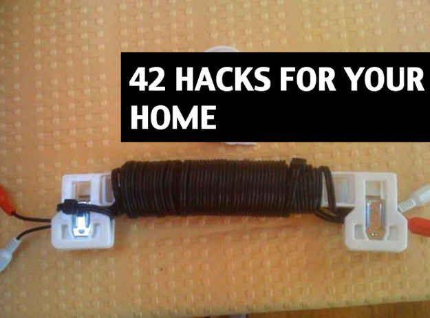 Community Post 41 Creative DIY Hacks To Improve Your Home
