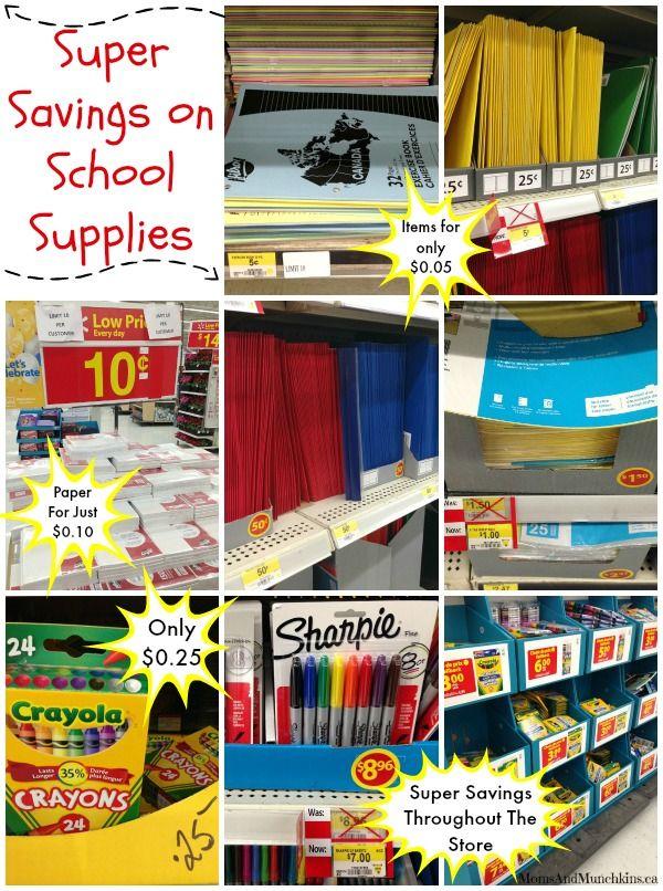 Discount School Supply Deals & Cool School Supplies