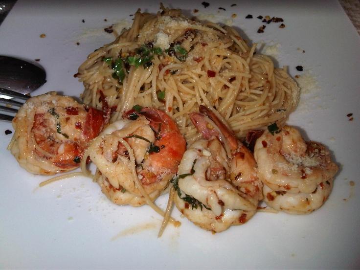 angel hair pasta with shrimp   foooodies   Pinterest
