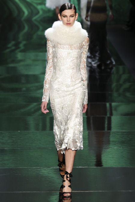 #Monique Lhuillier-#Fall 2013 Ready-To-Wear #NYFW #MBFW