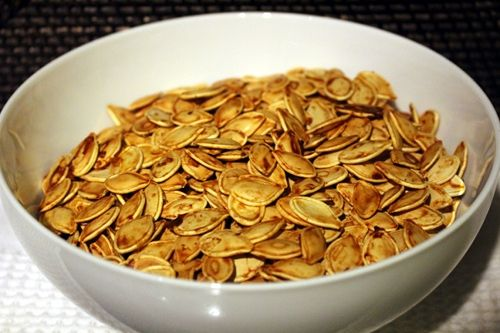 Roasting Pumpkin Seeds | eats | Pinterest