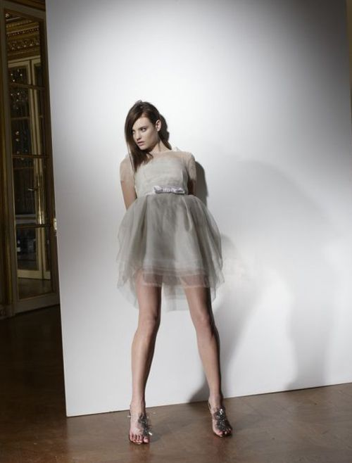 Lanvin, robe de mariée tutu  Robes de mariées  Pinterest