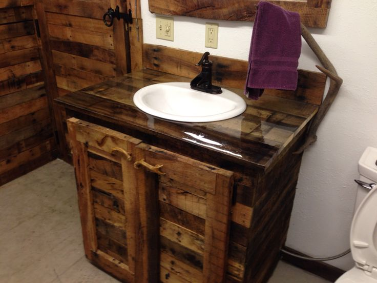 Amazing About Pallet Bathroom On Pinterest  Rustic Kids Furniture Pallet