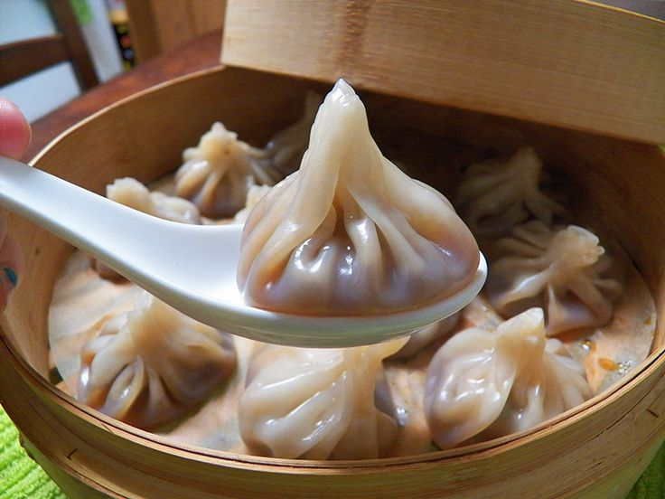 Xiao long bao (soup dumplings) | Asian Foods | Pinterest
