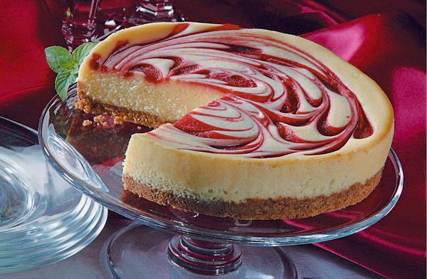 strawberry swirl cheesecake | food and recipes | Pinterest