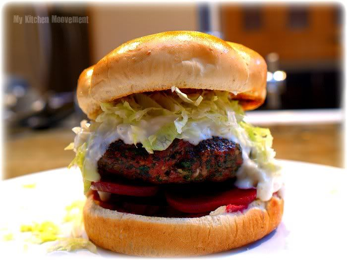 Greek Burger (sub beef for lamb) | Delicious Eats for the Craft Consc ...