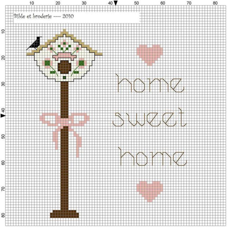Home вышивка крестом 57