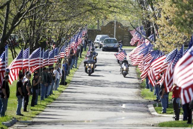 american legion flag protocol veterans day