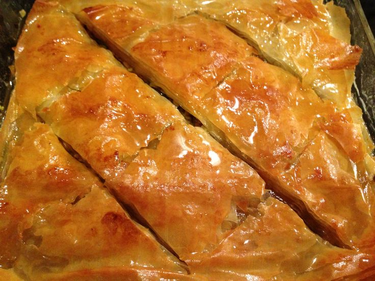 Traditional Baklava Recipe (Greek Walnut, Pistachio and Syrup cake ...