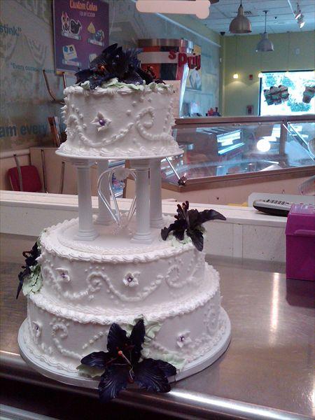 Carvel Ice Cream Wedding Cakes