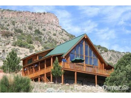 Custom Log Home Iin Southwest New Mexico Log Home Ideas