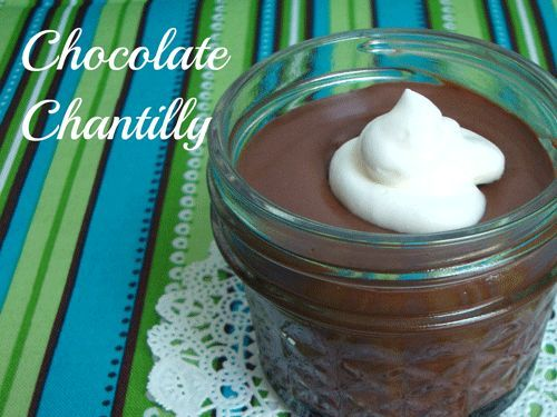Chantilly or the easiest, fastest Chocolate Mousse you've ever ...