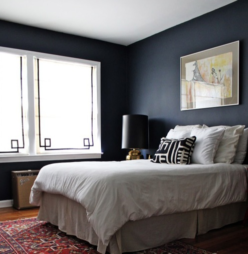 Colour Benjamin Moore S Hale Navy For The Home Pinterest
