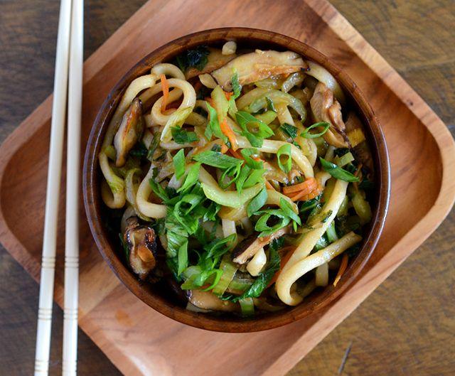 Shanghai Noodle Salad Recipe — Dishmaps