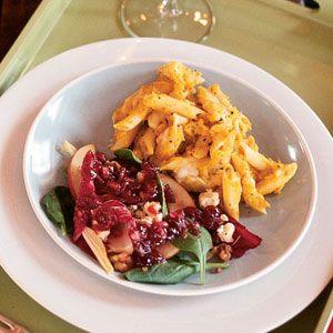 Roasted Shallot and Butternut Squash Pasta | MyRecipes.com