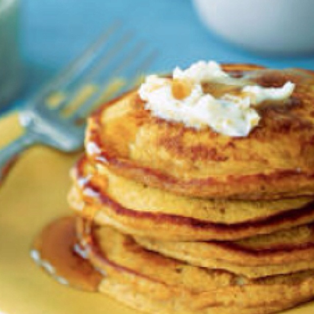 Pumpkin Spice Pancakes With Pumpkin Butter Recipe — Dishmaps