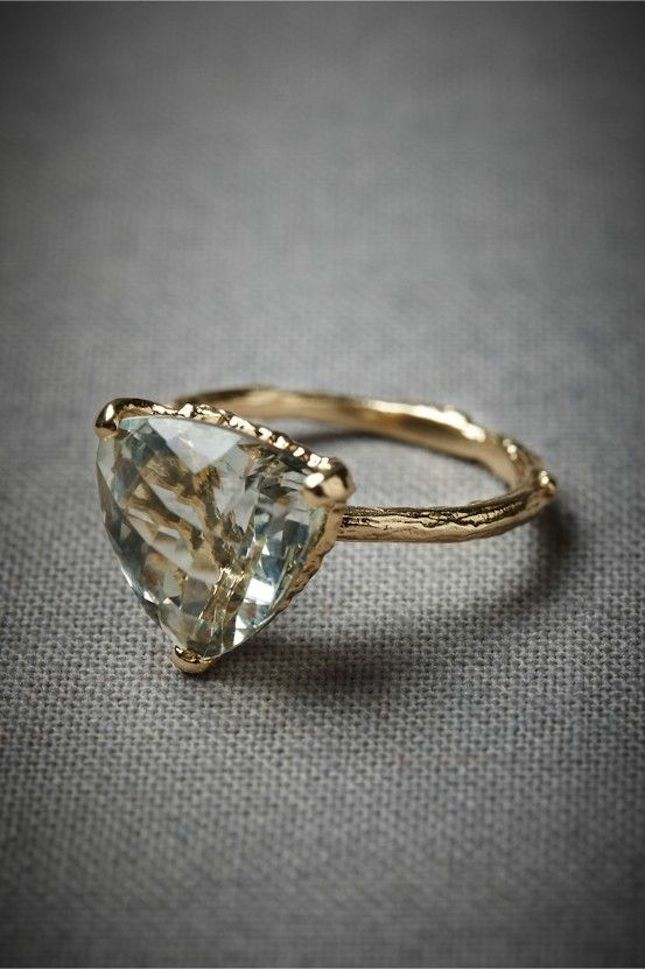 14 non traditional engagement rings we say yes to With non wedding rings