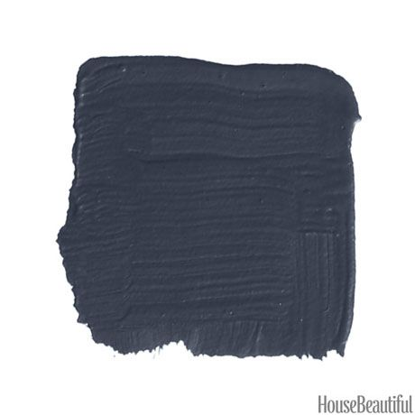 Farrow and Ball - Black Blue // The Twisted Horn