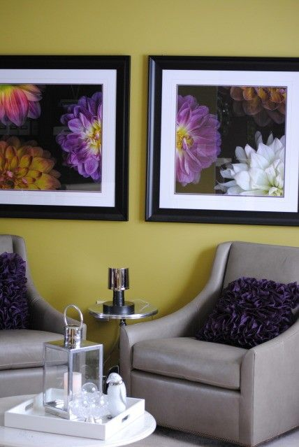 Purple green yellow living room ideas for my house - Purple and yellow room ideas ...