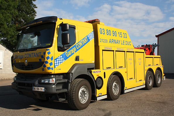 Renault 1 4 renault tow truck pinterest for Garage renault 94