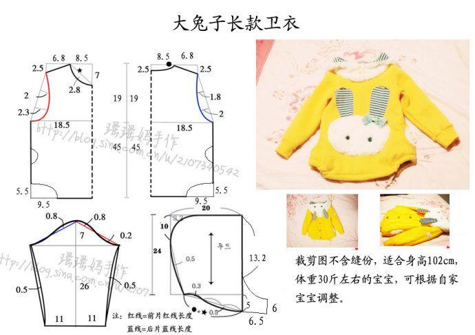 Шитье для детей выкройки до 1 года своими руками9