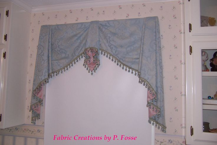 ... Valance by Fabric Creations | Curtains - Swags & Jabots | Pi