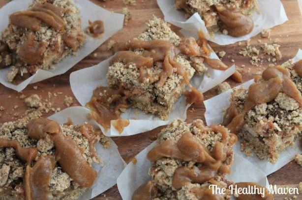 Salted Caramel Apple Crumb Bars Recipes — Dishmaps