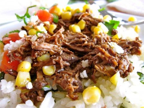 Barbacoa Beef from Skinnytaste via Food Charlatan. I made it with ...