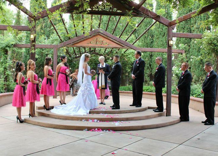 Wedding photography albuquerque botanic garden