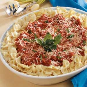 Sausage Pasta Sauce. Tired of plain old spaghetti? Try this delicious ...