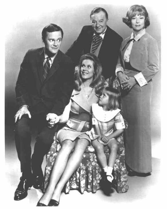 Cast of Bewitched | Glorious books, great shows | Pinterest