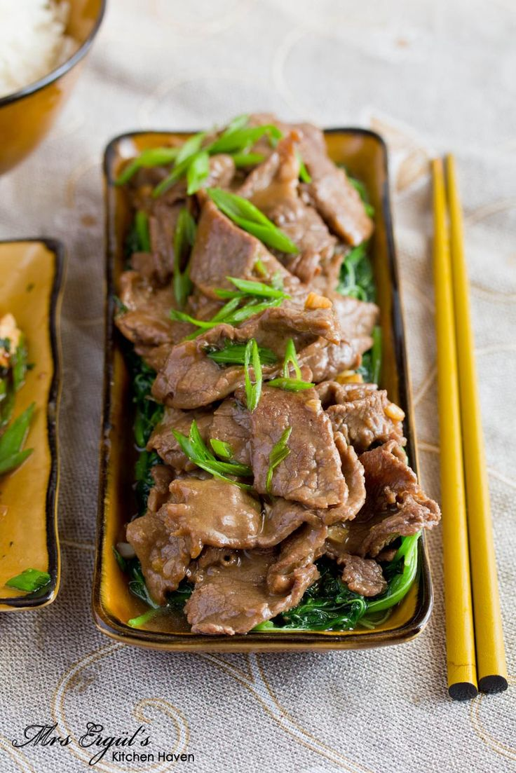 Chinese Stir-Fried Beef | R2T : Main dish | Pinterest